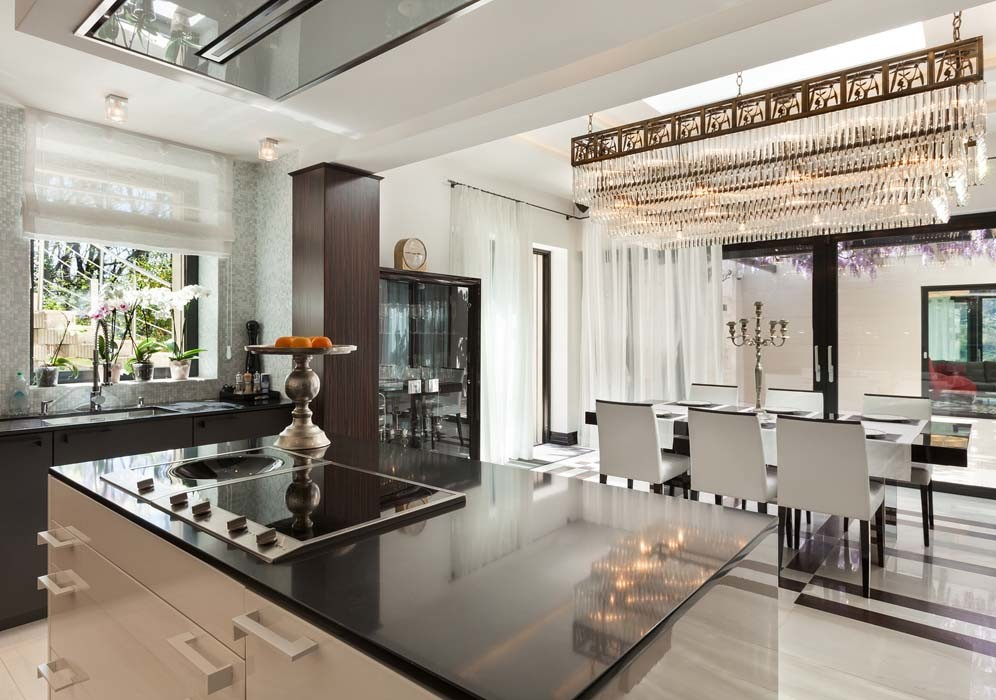 Kitchen with Modern Architecture - HDRE Corporation